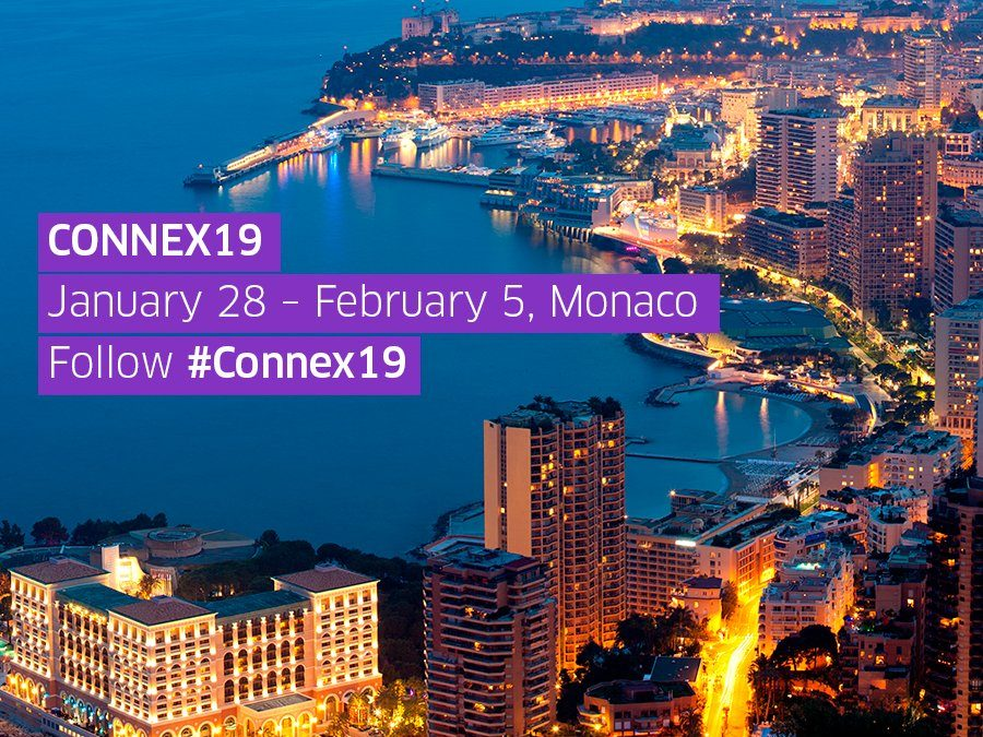 Connex19 | Jan 28th-Feb 5th 2019, Monaco.
