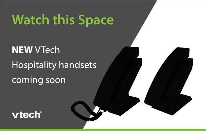 New VTech Hospitality phones