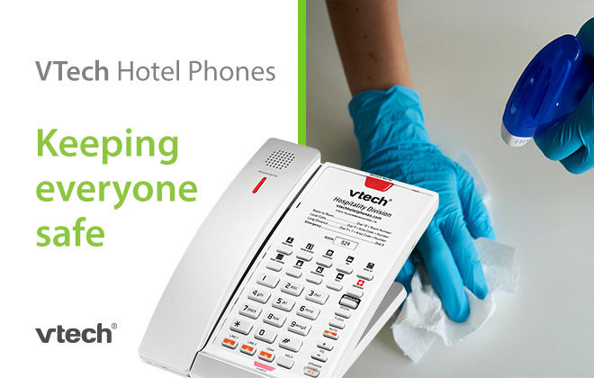 VTech Hotel Phones - Cleaning Disinfecting